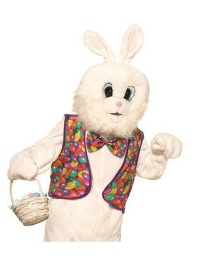 Easter Bunny Vest and Bow Tie Kit