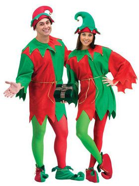 Economy Elf Set Costume