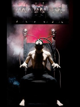 Electric Chair Full Size Animated Prop