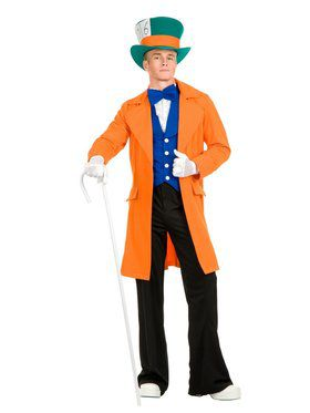 Electric Mad Hatter Adult Orange