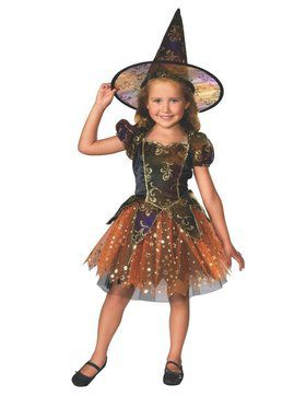 Elegant Witch Child Costume