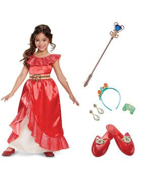 Elena of Avalor - Deluxe Children's Adventure Gown Kit