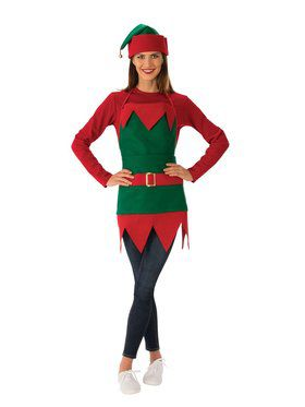 Elf Apron Adult Costume