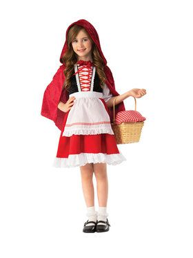 Story Book Little Red Riding Hood Costume