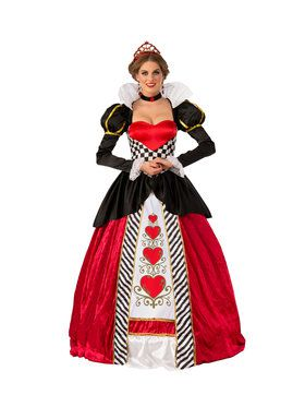 Elite Red Queen Adult Costume