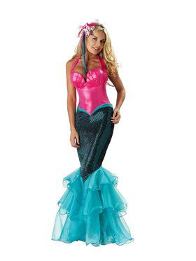 Adult's Sexy Mermaid Costume