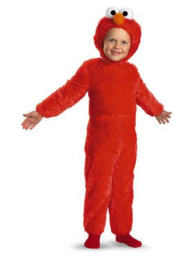 Elmo Plush Deluxe Child Costume