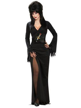 Elvira - Halloween Sensation Elvira Standard Adult Costume