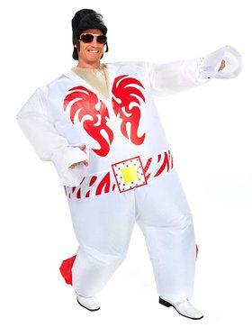 Adult Elvis Inflatable Costume