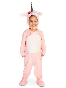 Enchaned Pink Unicorn Child Costume
