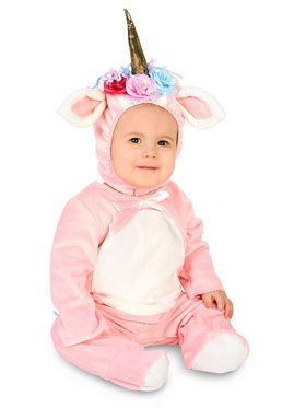 Enchanted Pink Unicorn Infant Costume