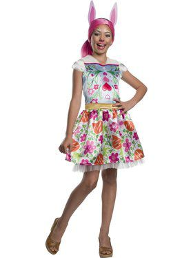 Enchantimals Girl's Bree Bunny Costume