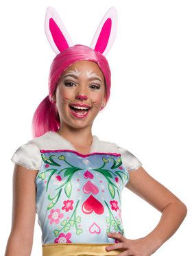 Girls Enchantimals Bree Bunny Wig with Ears
