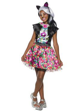 Enchantimals Girl's Sage Skunk Costume