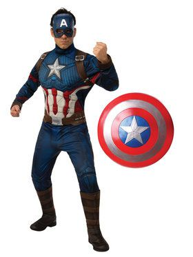 Endgame Captain America Adult Costume Kit