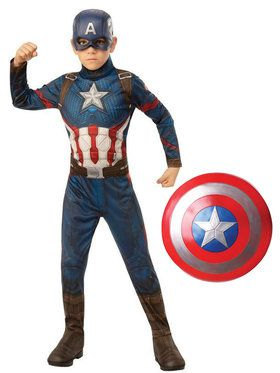 Endgame Captain America Child Costume Kit