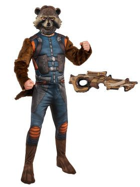 Endgame Rocket Raccoon Adult Costume Kit