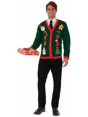 Everything Christmas Cardigan Sweater