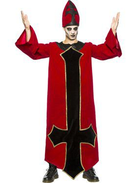 Evil Bishop Adult Costume