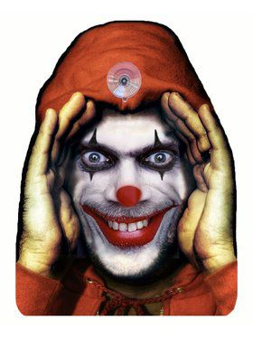 Evil Clown Cling