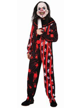 Evil Clown Suit Adult Costume