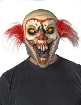 Creepy Face-Off Clown 2018 Halloween Masks Accessory