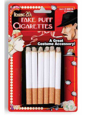 6 Piece Fake Cigarette Set
