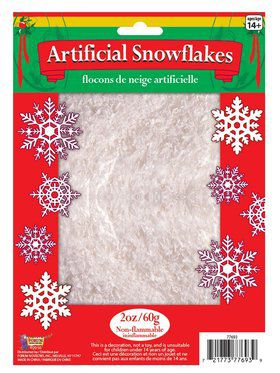 Fake Snow - 2 Oz Bag