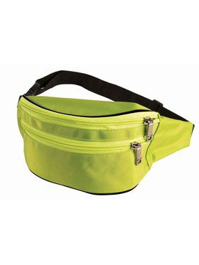 Fanny Pack - Green/Pink