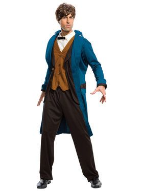 Fantastic Beasts and Where to Find Them - Newt Deluxe Adult Costume Standard
