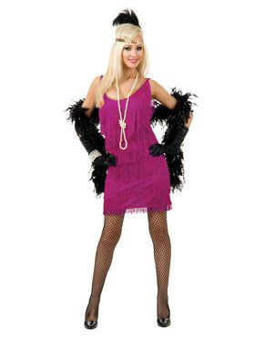 Fashion Flapper Adult Costume