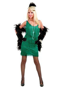 Fashion Flapper Adult Jade