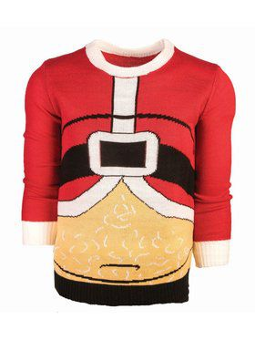 Fat Santa Christmas Sweater