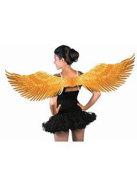 Feather Wings Gold
