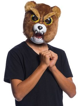 Feisty Pets Sir-Growls-A-Lot Moveable Jaw Child 2018 Halloween Masks