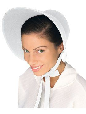Felt Bonnet White