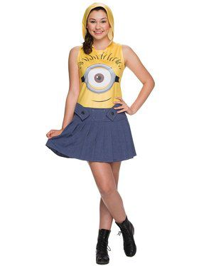 Female Minion Teen Costume