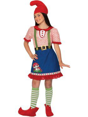 Fern The Gnome Costume for Girls