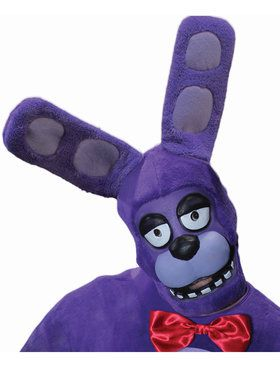 Five Nights at Freddy's Bonnie 3/4 2018 Halloween Masks for Adults