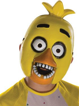 FNAF CHICA 1/2 MASK CHILD