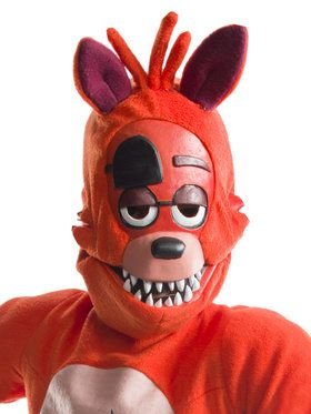 Five Nights at Freddy's Foxy 3/4 2018 Halloween Masks for Kids