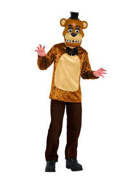 Five Nights at Freddys Deluxe Freddy Kids Costume Set