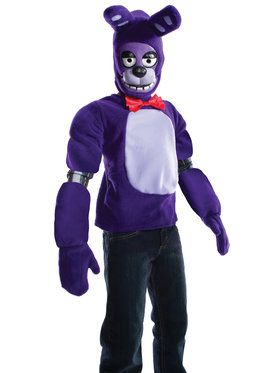 Child Five Night at Freddy's Bonnie Costume