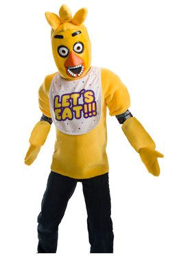 Five Nights At Freddys Kids Deluxe Chica Costume