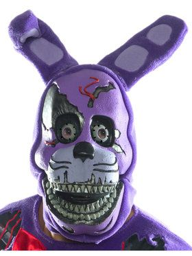 Five Nights At Freddy's - Nightmare Bonnie Adult 3/4 2018 Halloween Masks