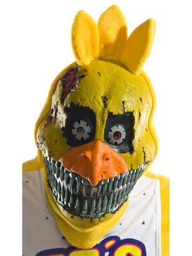Five Nights At Freddy's - Nightmare Adult Chica 3/4 2018 Halloween Masks