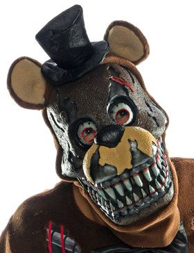 Five Nights At Freddy's - Nightmare Freddy Adult 3/4 2018 Halloween Masks