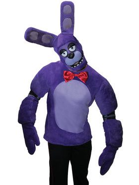 FNAF TEEN PLUSH BONNIE COSTUME