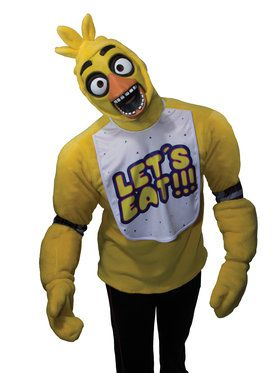 FNAF TEEN PLUSH CHICA COSTUME