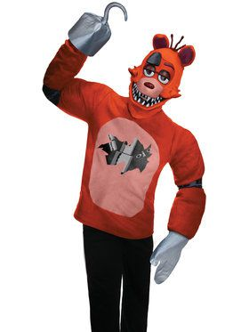 FNAF TEEN PLUSH FOXY COSTUME